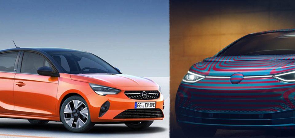 VW ID.3 & Opel Corsa-e